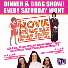 Manly Sisters Movie Musicals Drag Show